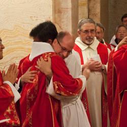 Allegria tra religiosi